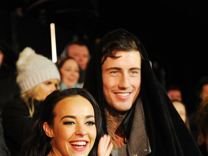 BOREHAMWOOD, ENGLAND - FEBRUARY 05: (L-R) Stephanie Davis and Jeremy McConnell at the final of Celebrity Big Brother at Elstree Studios on February 5, 2016 in Borehamwood, England. (Photo by Jeff Spicer/Getty Images) Jeremy McConnell spared jail after assault on ex Stephanie Davis Jeremy McConnell spared jail after assault on ex Stephanie Davis 21986f11ad2dbc9d3efce4aa98d087b8c1437cb3cd00d1b48b441595823d9187 4071205