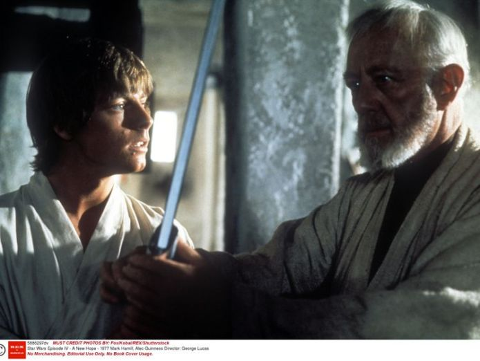 Obi-Wan Kenobi was first played by Alec Guinness in the first trilogy Obi-Wan spinoff reportedly 'in the works' Obi-Wan spinoff reportedly 'in the works' 4b2fd2259c6dfac79b91278080ef20ba820729846d5756522c16d7b72e1c3e8b 4076436