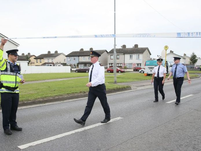 The area has now been cordoned off Mother-of-six and friend gunned down in family home in Dublin Mother-of-six and friend gunned down in family home in Dublin 73c6120dafab245f23262fb3a6f34874ff02e45ebece62f214a9a638e25faa1f 4075777