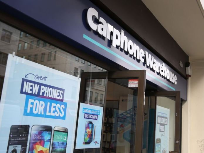 A branch of Carphone Warehouse on May 15, 2014 in London, England. Hackers access 5.9m bank cards at Dixons Carphone Hackers access 5.9m bank cards at Dixons Carphone 99c450f89b0af13f1104b46fb1b7eaf77e38caf63e760cbdda5f704579409e8e 4081392