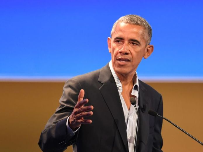 US former President Barack Obama delivers a speech during the third edition of 'Seed & Chips: The Global Food Innovation Summit' focussing on new technologies for feeding the globe, from agriculture to distribution, on May 9, 2017 in Milan. / AFP PHOTO / Andreas SOLARO (Photo credit should read ANDREAS SOLARO/AFP/Getty Images) Allies dismayed as Trump pulls US out of Iran deal Allies dismayed as Trump pulls US out of Iran deal ab9d92392d8440c9770dc71fb1716138d976bf8b7da394898e3bb576eec824a4 4075087