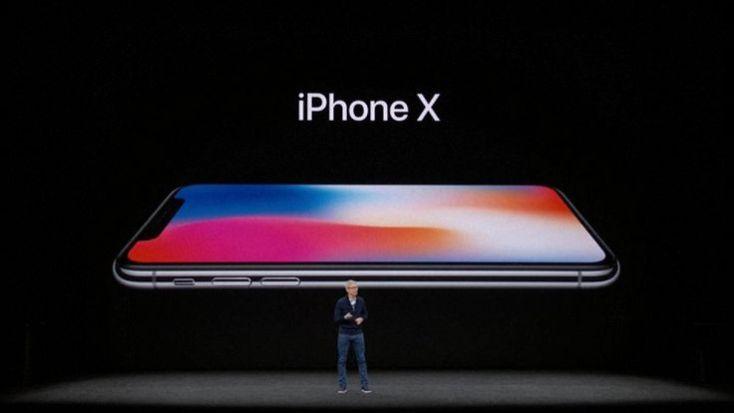 Apple unveils the iPhone X