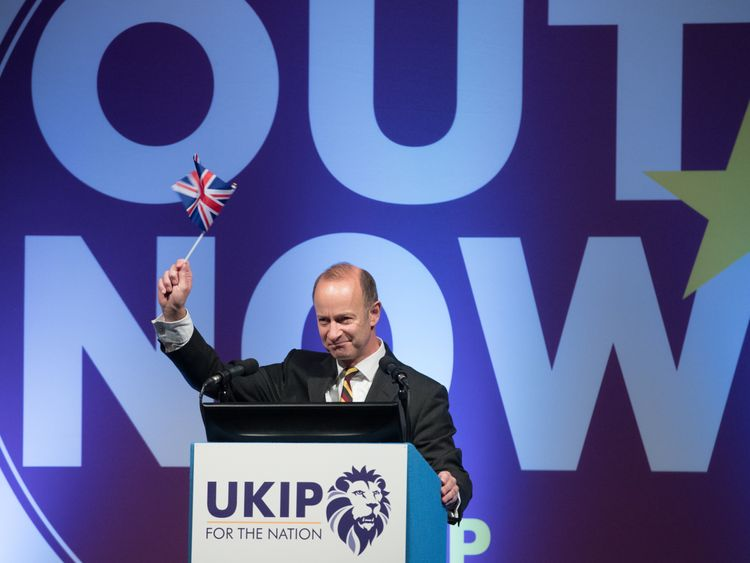 Henry Bolton wants an Australian-style, points-based system to manage immigration