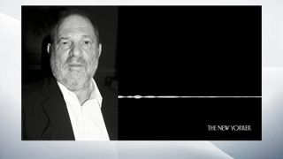 The New Yorker has released a copy of an audio recording  which was reportedly made at the entrance to Harvey Weinstein's hotel room  Harvey Weinstein's estranged wife breaks silence Harvey Weinstein's estranged wife breaks silence skynews cegrab harvey weinstein 4124988