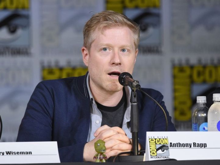 Anthony Rapp attends 'Star Trek: Discovery' panel during Comic-Con International 2017 at San Diego Convention Center on July 22, 2017