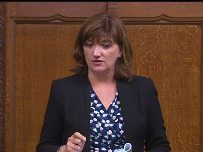Nicky Morgan MPs say they have 'lost confidence' in TSB boss Paul Pester MPs say they have 'lost confidence' in TSB boss Paul Pester skynews nicky morgan nicky morgan mp 4138795