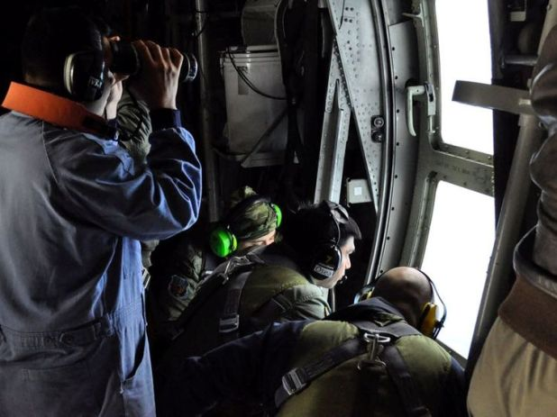 A major search effort involving 30 boats and planes continues