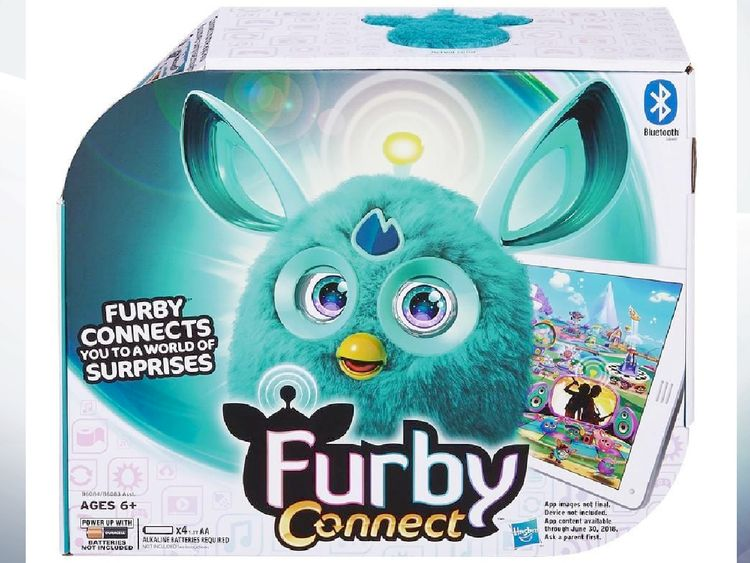 Furby Connect can be accessed via Bluetooth. Pic: Hasbro