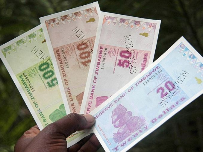 The Zimbabwean currency was hit by hyperinflation as the economy deteriorated