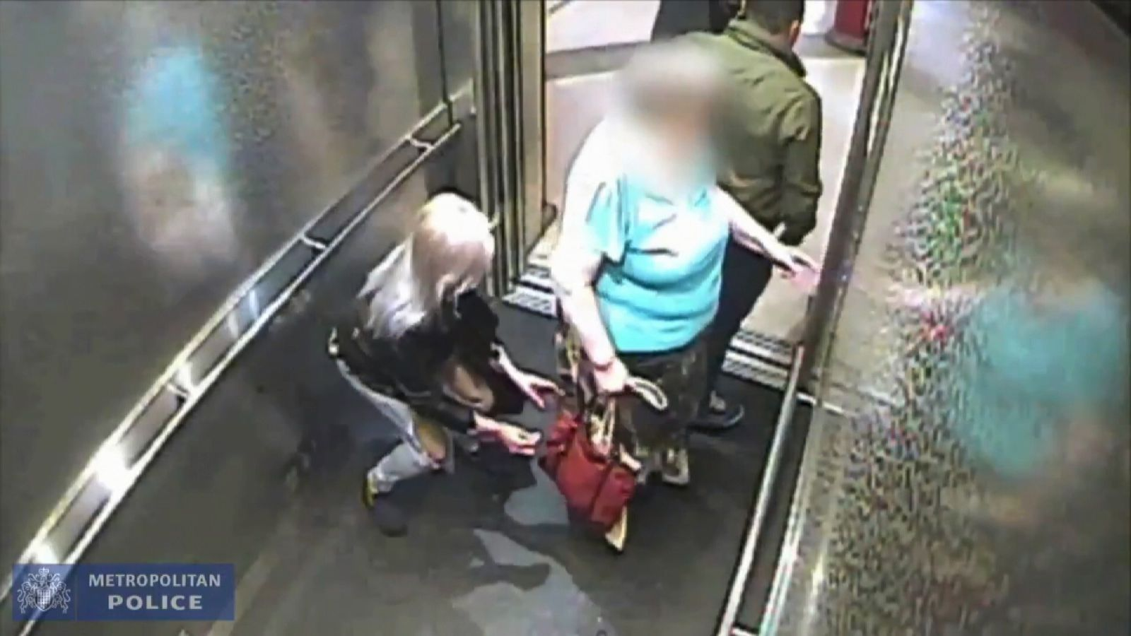 CCTV Footage Released Of Pick Pocket In London Lift Stealing Money From Pensioner