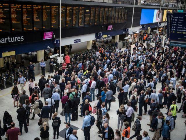Passenger numbers increased at London Waterloo