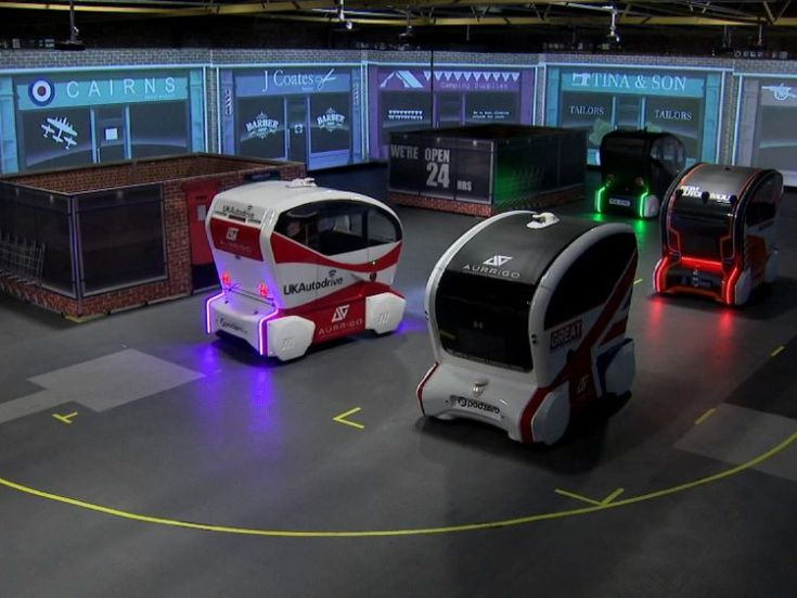 The autonomous pods set to be used in Milton Keynes are going through final trials