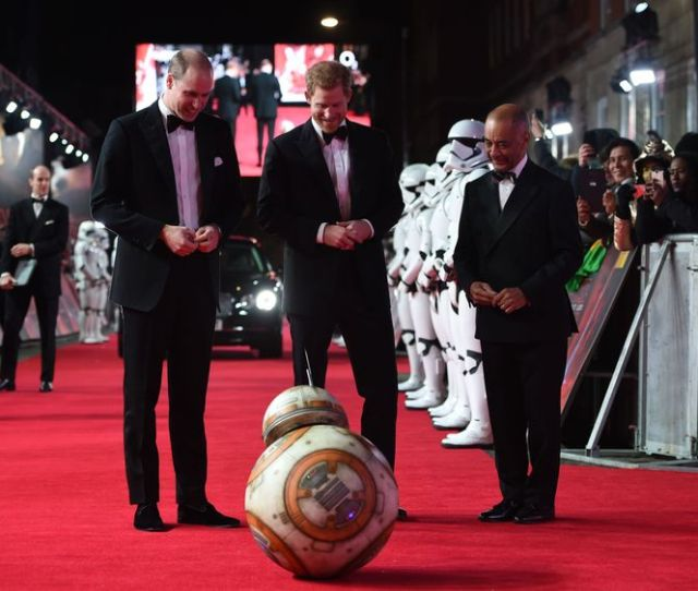 The Royals Joined Stormtroopers On The Red Carpet