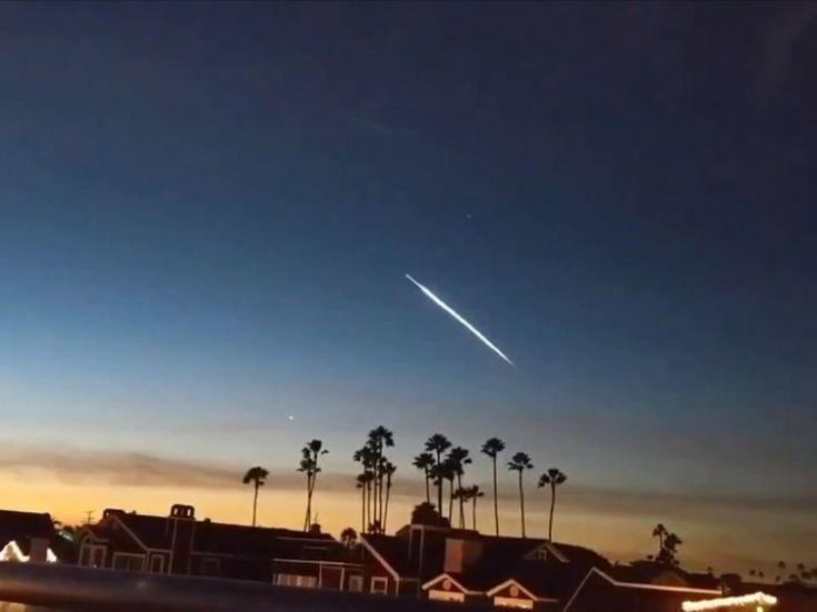 SpaceX launch in California. Pic: Danny Sullivan