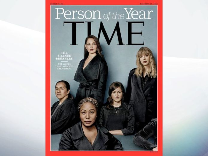 Person of the year Meet the woman who started the #MeToo movement Meet the woman who started the #MeToo movement skynews time magazine cover 4175552
