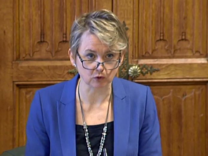 Yvette Cooper, Chair of the Home Affairs Select Committee. Pic: Parliament TV the end is finally nigh for equitable life The end is finally nigh for Equitable Life skynews yvette cooper 4187004