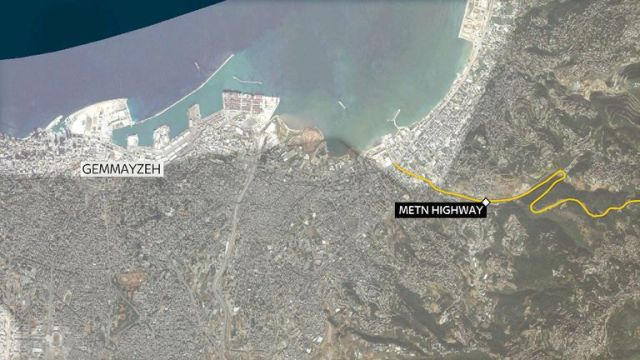 Ms Dykes' body was found by the side of the Metn highway in Beirut