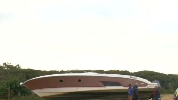 Pierre Agnes' boat
