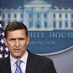 National security adviser Michael Flynn resigned after just 23 days in the job, over contacts he had with Russia before Mr Trump took office.