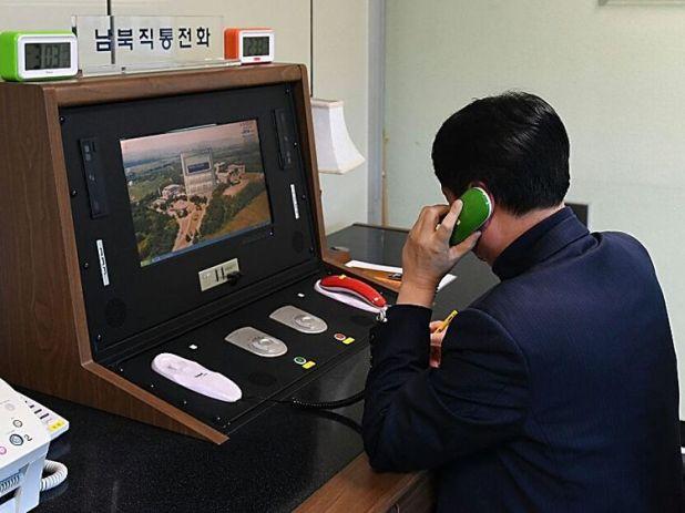 North Korea phone line opened