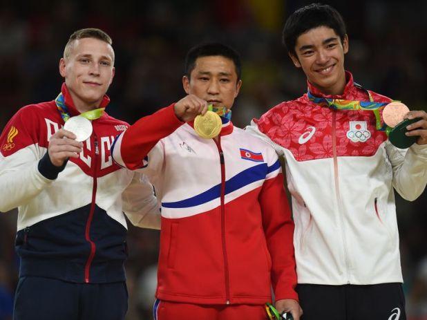 North Korea olympics team
