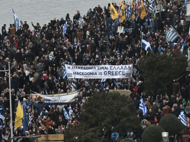 Greeks have disputed the country of Macedonia's name since it was changed in 1991