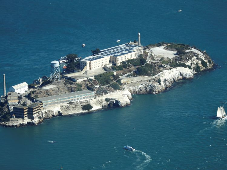 Alcatraz Island was once America's most secure prison