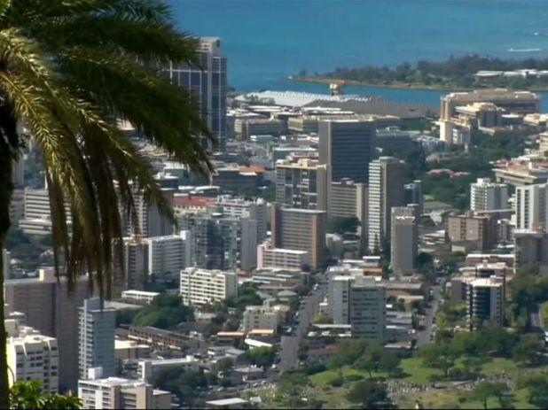 Honolulu, the capital of Hawaii