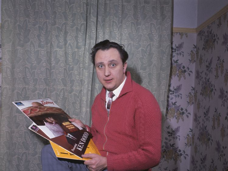 Sir Ken Dodd pictured in 1959.