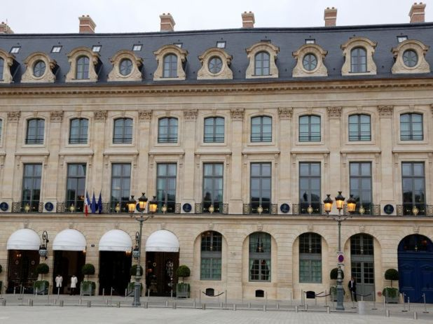 The robbery happened at the Ritz Hotel in Paris. File pic
