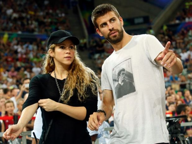 Shakira lives in Barcelona with partner Gerard Pique