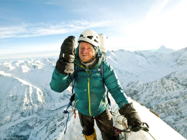 Polish climber Tomasz Mackiewicz during his trip on Nanga Parbat in 2014