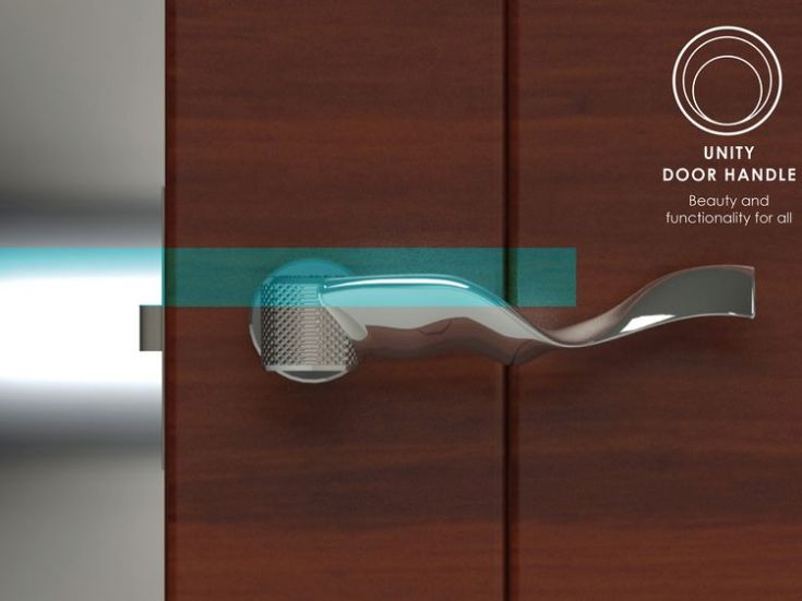 the Unity Door Handle. Pic: Connor Musoke-Jones
