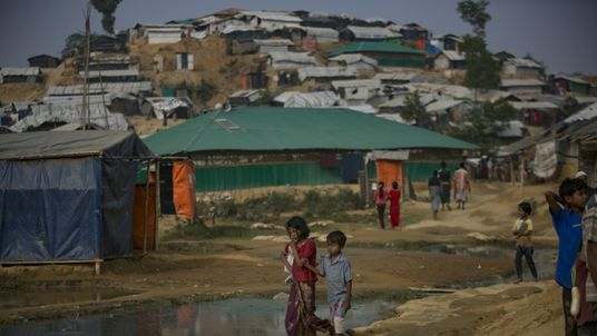 Ashley Judd's diary of life in a Rohingya camp Ashley Judd's diary of life in a Rohingya camp skynews rohingya bangladesh 4235146