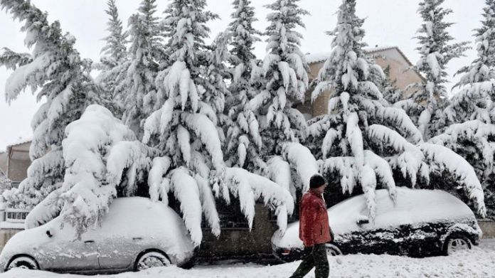 Thessaloniki More deaths as Siberian chill grips Europe More deaths as Siberian chill grips Europe skynews thessaloniki weather 4241667