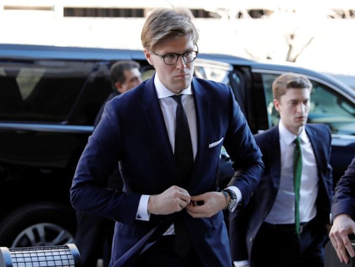 Alex Van Der Zwaan admitted he lied to the FBI about his interactions with Rick Gates Tax fraud charges filed against ex-Trump chiefs Paul Manafort and Rick Gates Tax fraud charges filed against ex-Trump chiefs Paul Manafort and Rick Gates skynews alex van der zwaan 4236327