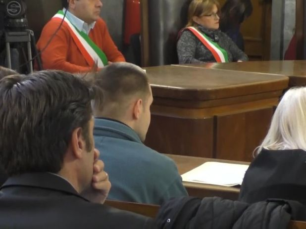 The judge allowed Herba to sit next to his lawyer