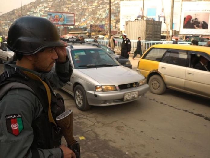 Police act on information that two suspected car bombs have entered the city The civilian price of the 17 year war on terror in Afghanistan The civilian price of the 17 year war on terror in Afghanistan skynews kabul afghanistan alex rossi 4234900