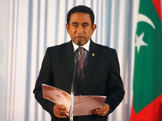 President of the Maldives Yameen Abdul Gayoom
