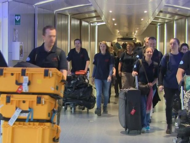 The medical team return home from Bangladesh