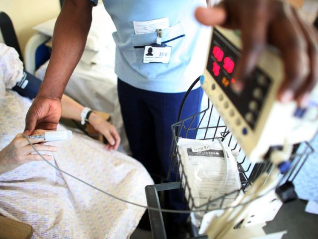 A&E departments faced increased pressure this year
