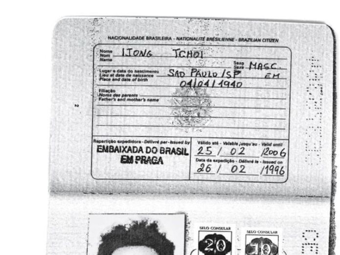 Kim Jong Il's false passport North Korean leaders 'used fake Brazilian passports to apply for visas' North Korean leaders 'used fake Brazilian passports to apply for visas' skynews north korea kim jong il 4242386