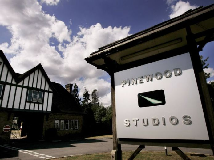 BUKINGHAMSHIRE, UNITED KINGDOM - JULY 30: A general view of Pinewood studios on July 30, 2006 in Bukinghamshire, England. Eight fire engines tackled a blaze at the renowned film studios at the set of the new James Bond film 'Casino Royale' where filming has recently ended, which reportedly housed a replica of Venice. (Photo by Bruno Vincent/Getty Images)  British film industry at a defining point in its history British film industry at a defining point in its history skynews pinewood studious 4233789