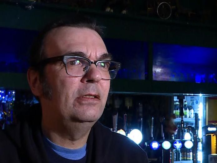 Music manager at Windmill, Brixton says problems in industry Third of music venues under financial threat, national survey shows Third of music venues under financial threat, national survey shows skynews robinson music venues 4232401