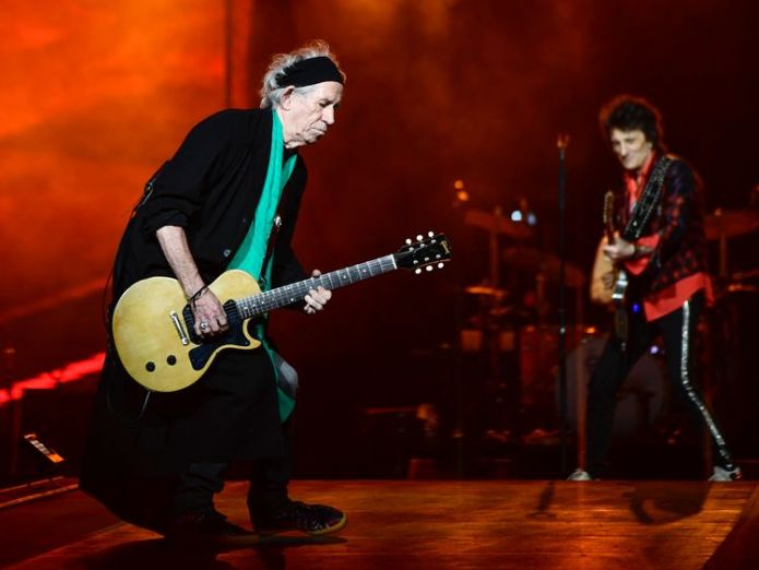 Keith Richards (l) said the band were 'just getting started' The Rolling Stones to tour UK for first time in five years The Rolling Stones to tour UK for first time in five years skynews rolling stones keith richards 4241546