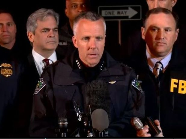 Austin Police chief Brian Manley confirms the Texas serial bombing suspect has died