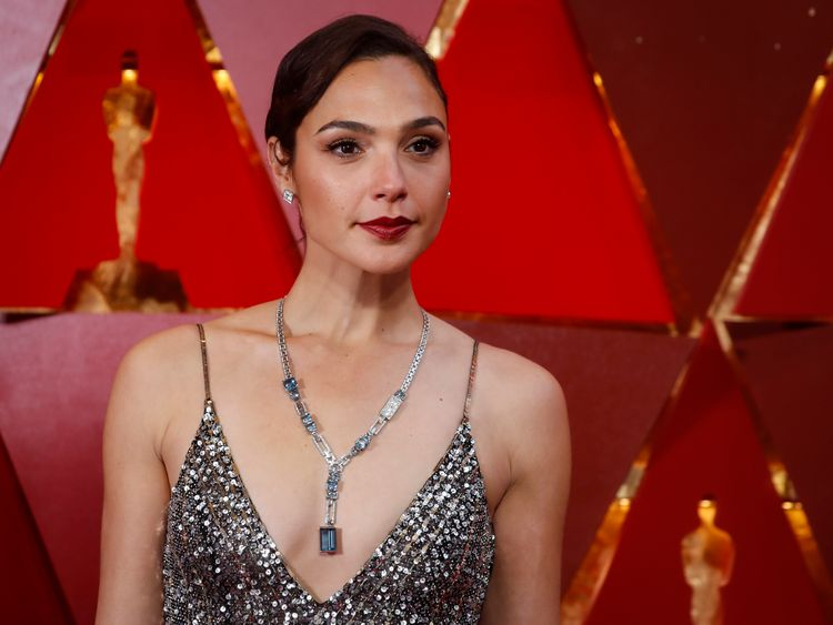 Wonder Woman actress Gal Gadot wore Givenchy at the Oscars this month