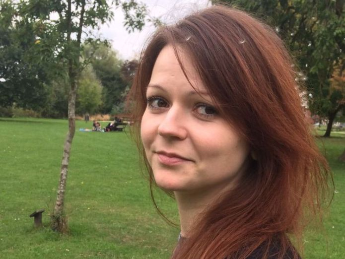 Yulia Skripal is no longer in a critical condition  US imposes sanctions on Russia over Skripal poisonings in Salisbury skynews julia skripal russia 4268108