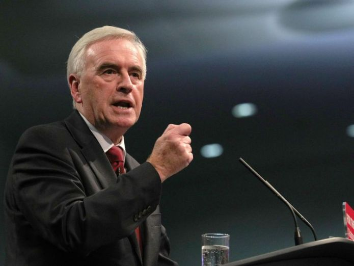Shadow chancellor John McDonnell                                                                                                                                                                                                                                            controversial heathrow expansion gets government go-ahead Controversial Heathrow expansion gets government go-ahead skynews labour john mcdonnell 4253091