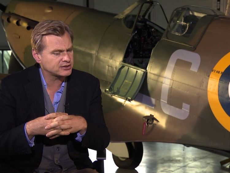 Director Christopher Nolan explains his version of history in Dunkirk